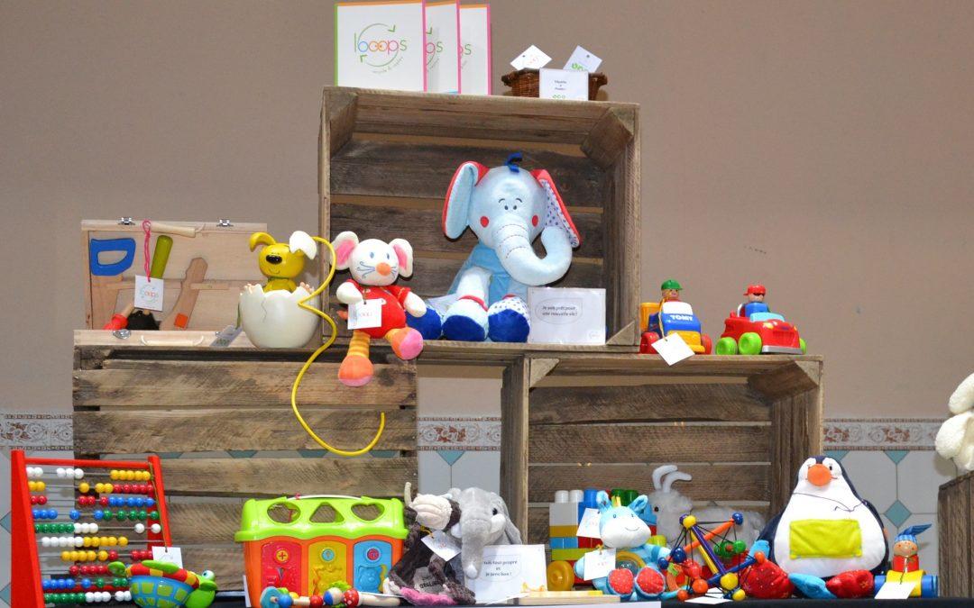 LOOOPS : une nouvelle vie pour les jouets usagés !